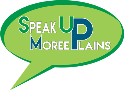 Speak Up Moree Plains Logo