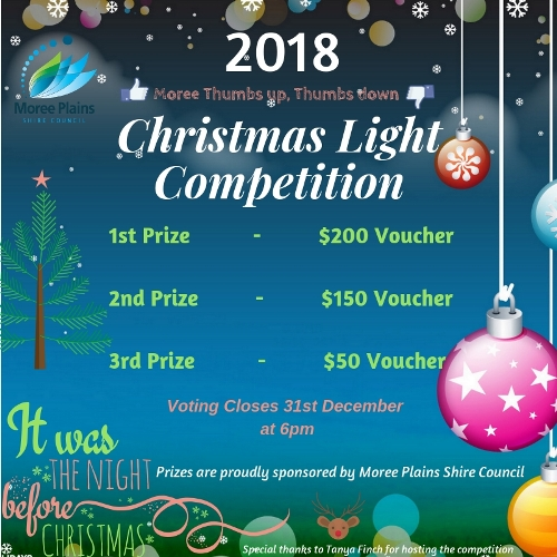 Christmas Lights Competition 2018