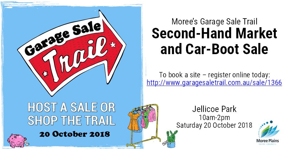 host a sale or shop the trail
