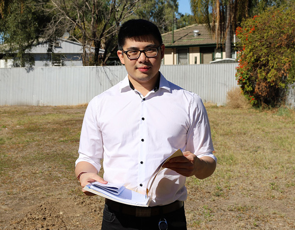 Shaun Yong is a welcomed addition to the Planning and Community Development department