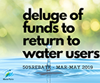 Council to give funds to return to water users