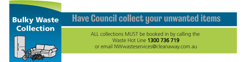 Bulky Waste Collections for the Moree Plains Shire