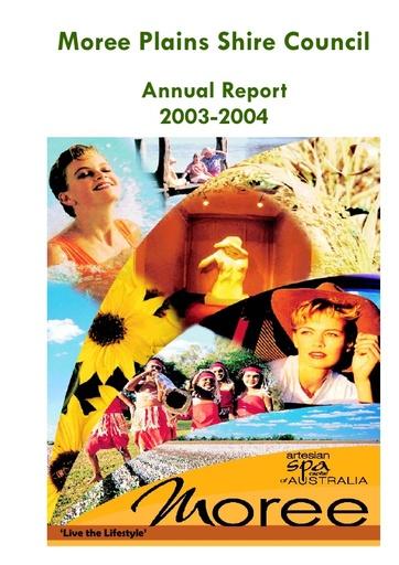 Annual Report 2003 2004