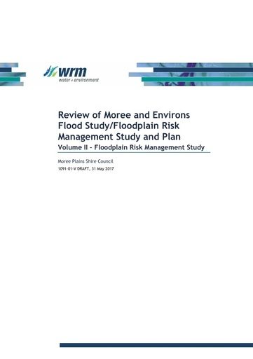 DRAFT Floodplain Management Plan Vol 2