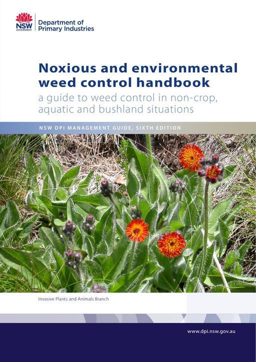 Noxious and environ weed control handbook