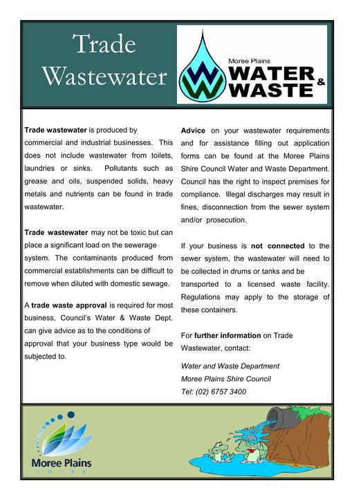 Trade Waste Brochure