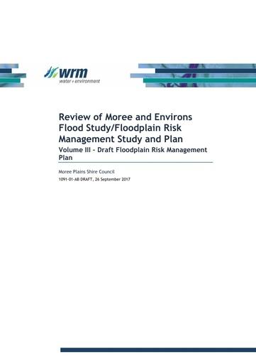 1091 01 AB DRAFT Floodplain Management Plan Volume 3