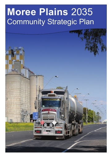 Moree Plains 2035   Community Strategic Plan   CSP