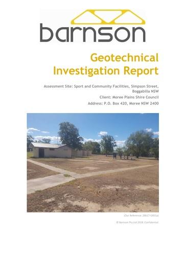 Att 4 Geotech Investigation 28617 GR01a