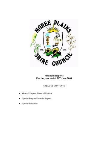 2003 04FinancialStatement