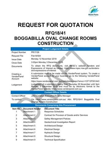 Att 2 Boggabilla Oval Change Rooms Contract