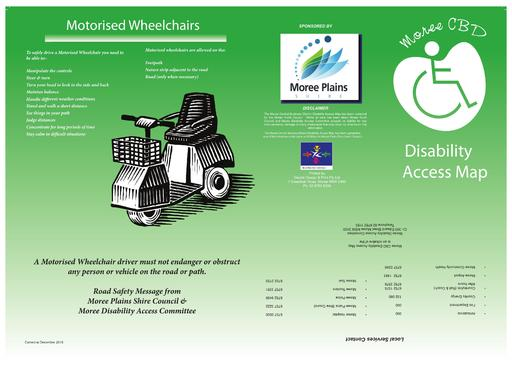 Disability Access Map Moree
