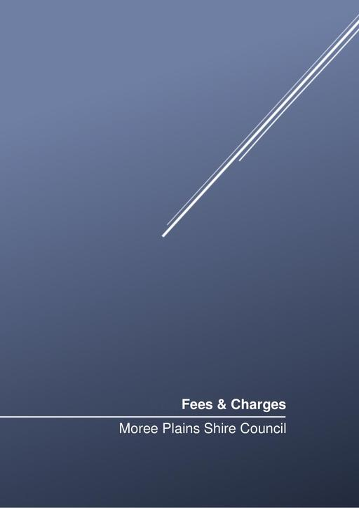 Fees and Charges 2016 2017