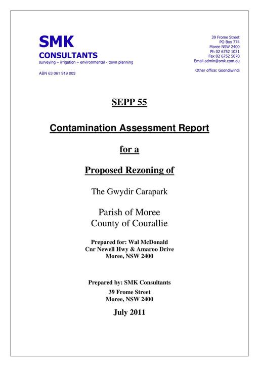 SEPP   55 Contaminated Land Assessment 1 7 11